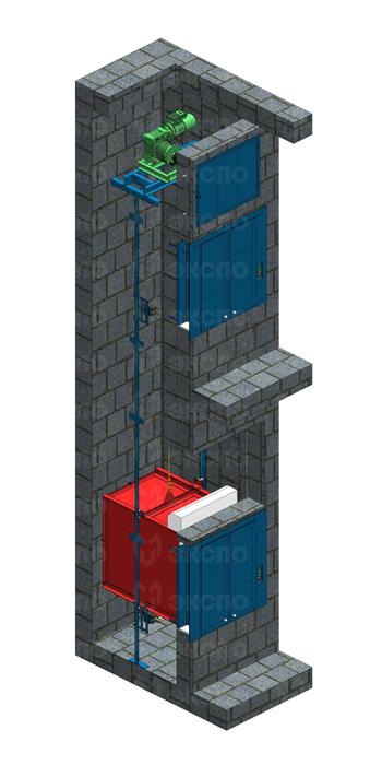 Малогрузовые подъемники - изображение 5