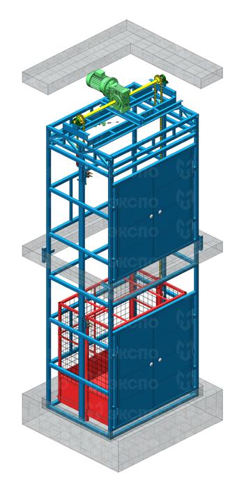 Шахтные цепные подъемники - изображение 1