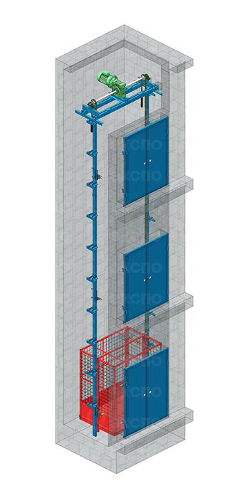 Шахтные цепные подъемники - изображение 3