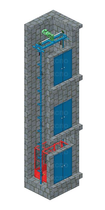 Шахтные цепные подъемники - изображение 4